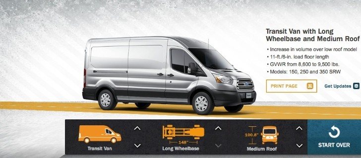 Ford Transit Combinator Lets You Configure