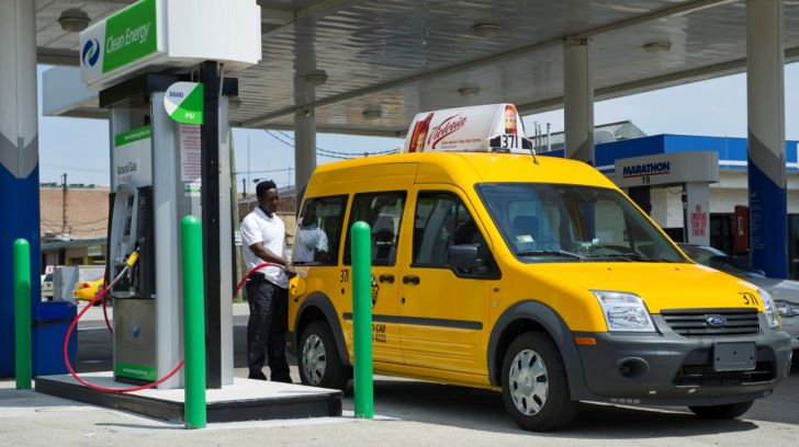 Ford Transit Connect CNG Taxi Conquers the US