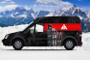 Ford Transit Connect Gets Custom Graphic Wraps