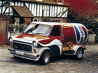 Pepsi Ford Transit photo