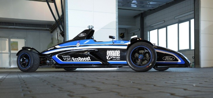 Ford Unveils 205 HP 1.0 EcoBoost Race Car Blasts 'Ring in ...