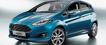 Ford Unveils New Fiesta Facelift with 1.0 EcoBoost [Photo Gallery]
