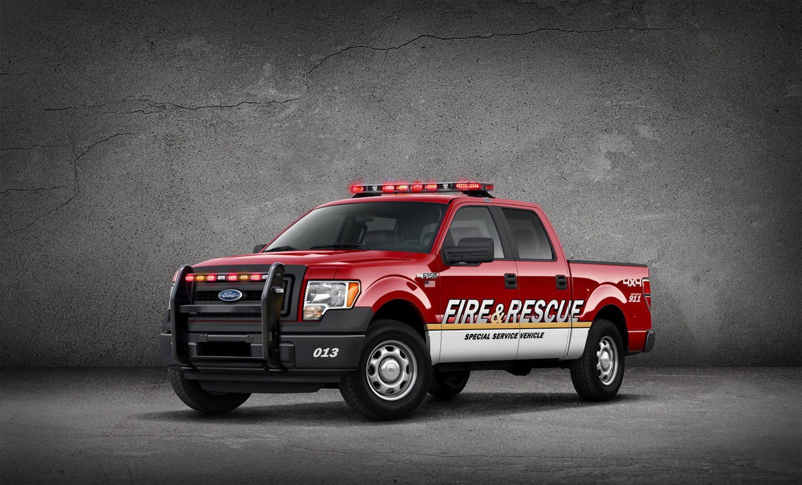Ford Unveils Police and Fire F-150 Pickup Trucks ...