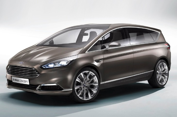Ford Unveils S-Max Concept [Photo Gallery]