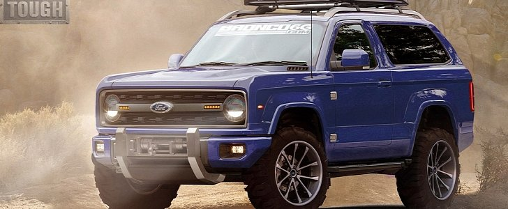 Ford Will Build A New Bronco It Will Be Made In Michigan