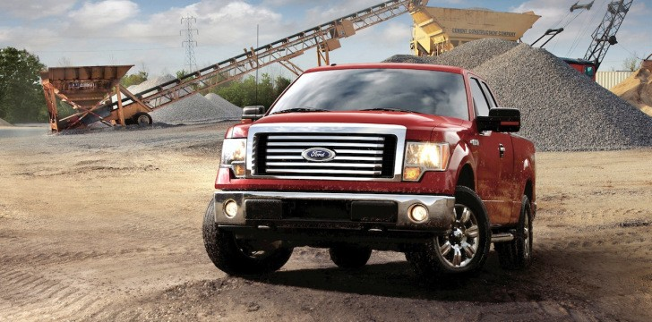 Ford US Pickup Sales Back to Normal