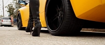 Forgiato Wheels Commercial: Driving a Lamborghini in High Heels [Video]