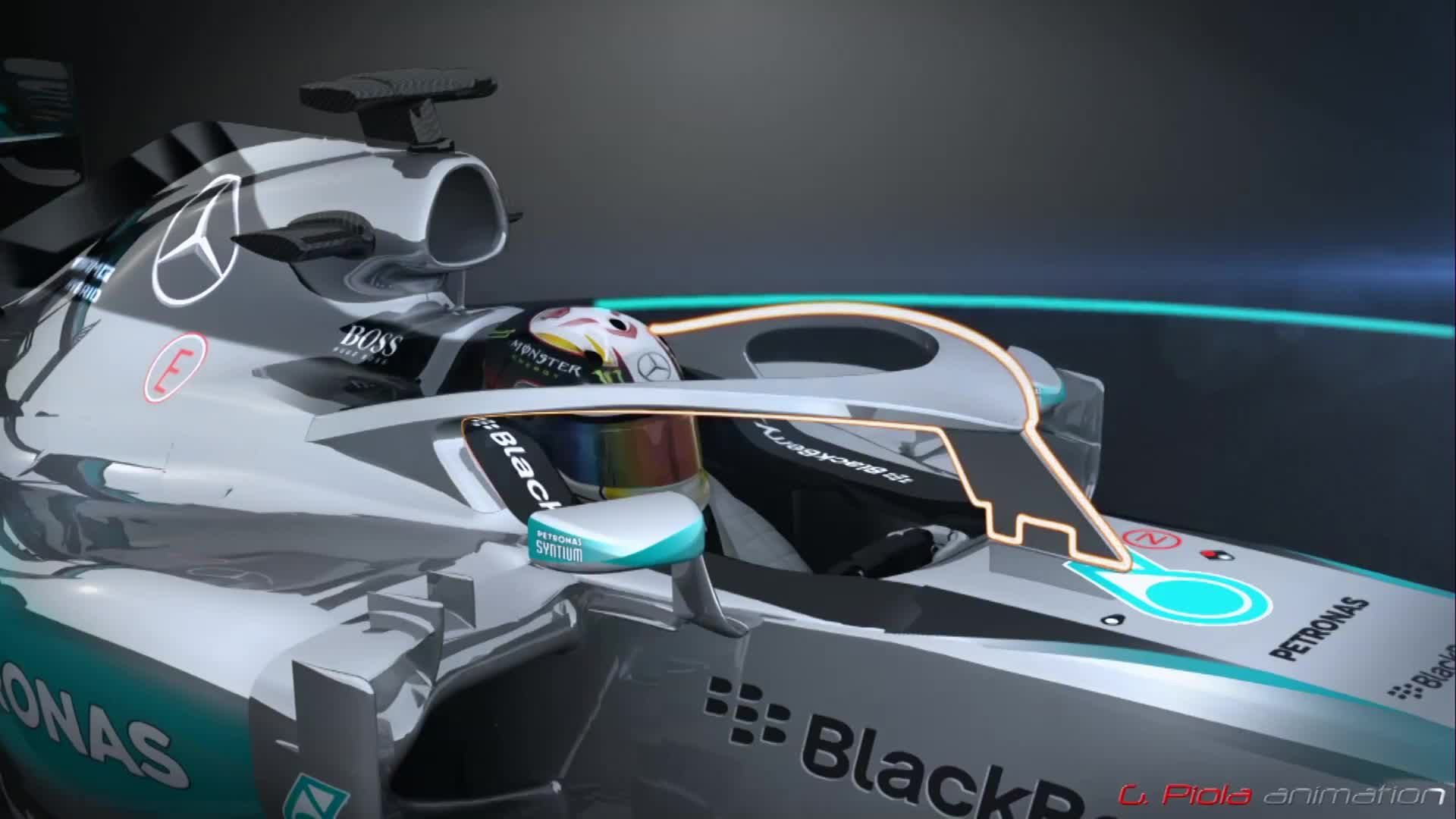 formula 1 cars to have head protection system from 2017 autoevolution. Black Bedroom Furniture Sets. Home Design Ideas