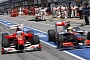 Formula 1 Cars Will Run on Electric Power in the Pit Lane in 2014
