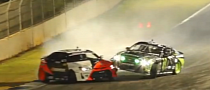 Formula Drift Crash: Vaughn Gittin Hits Fredric Aasbo [Video]