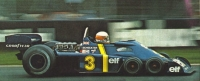 Jody Scheckter in the Tyrrell P34