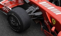 Slick tires have been banned from the sport for the last 11 years