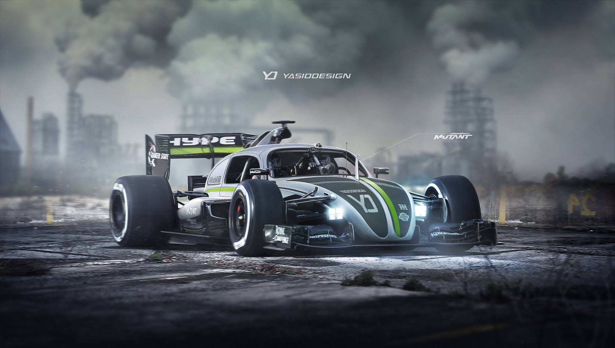 Formula One Vw Beetle Mashup Is Not As Fictional As You D