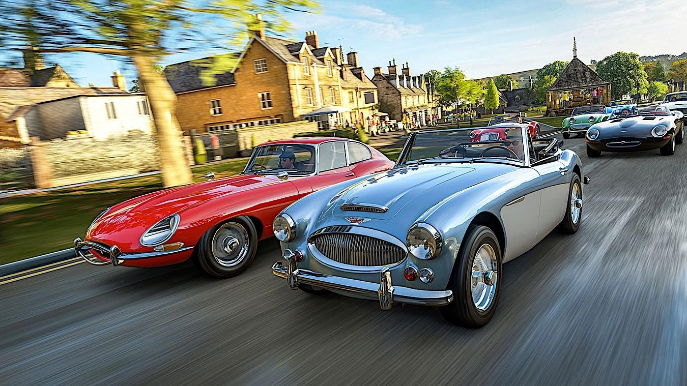 Forza Horizon 4 Trailer Shows Supercars In The British Wild Autoevolution