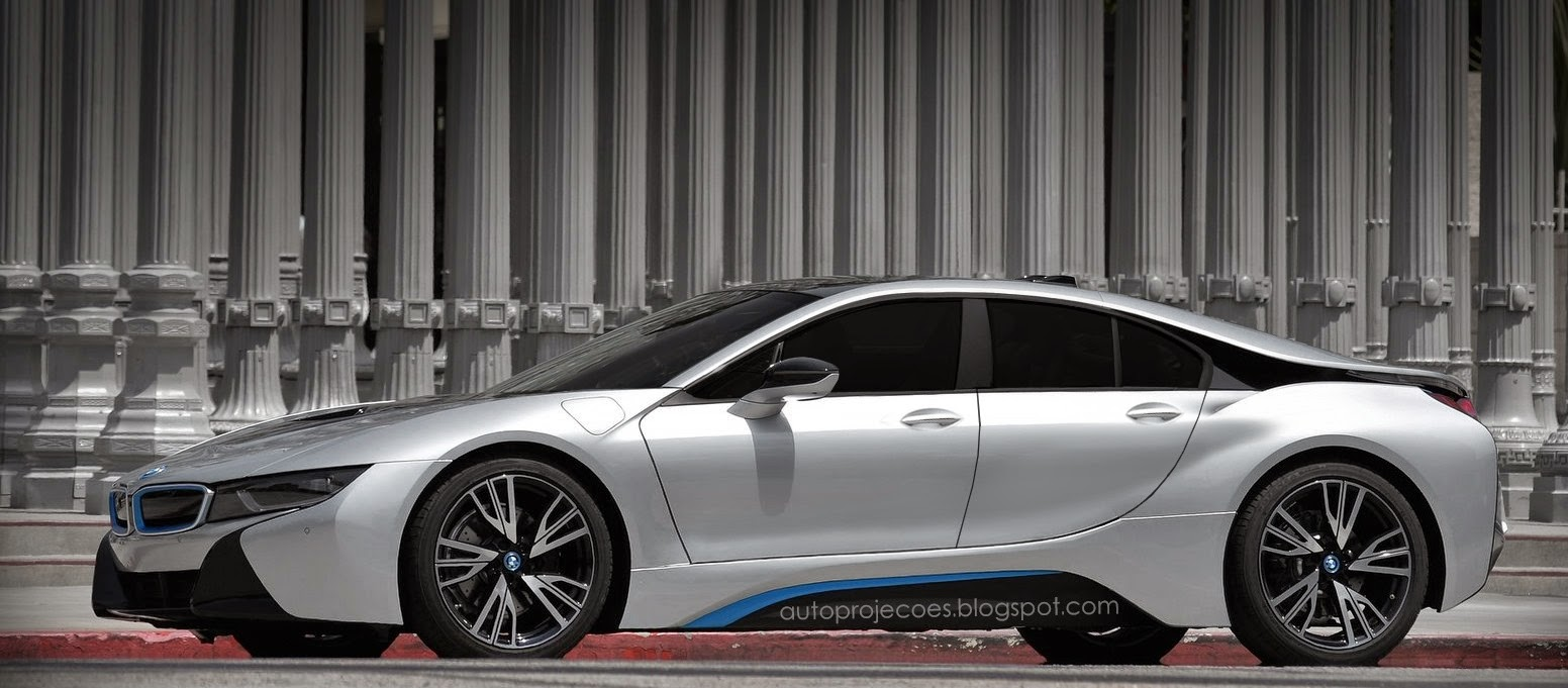 Four-Door BMW i8 Rendered. Could This Be the i9? - autoevolution