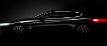 Four-Door Coupe Bertone Concept Teased Ahead of Geneva