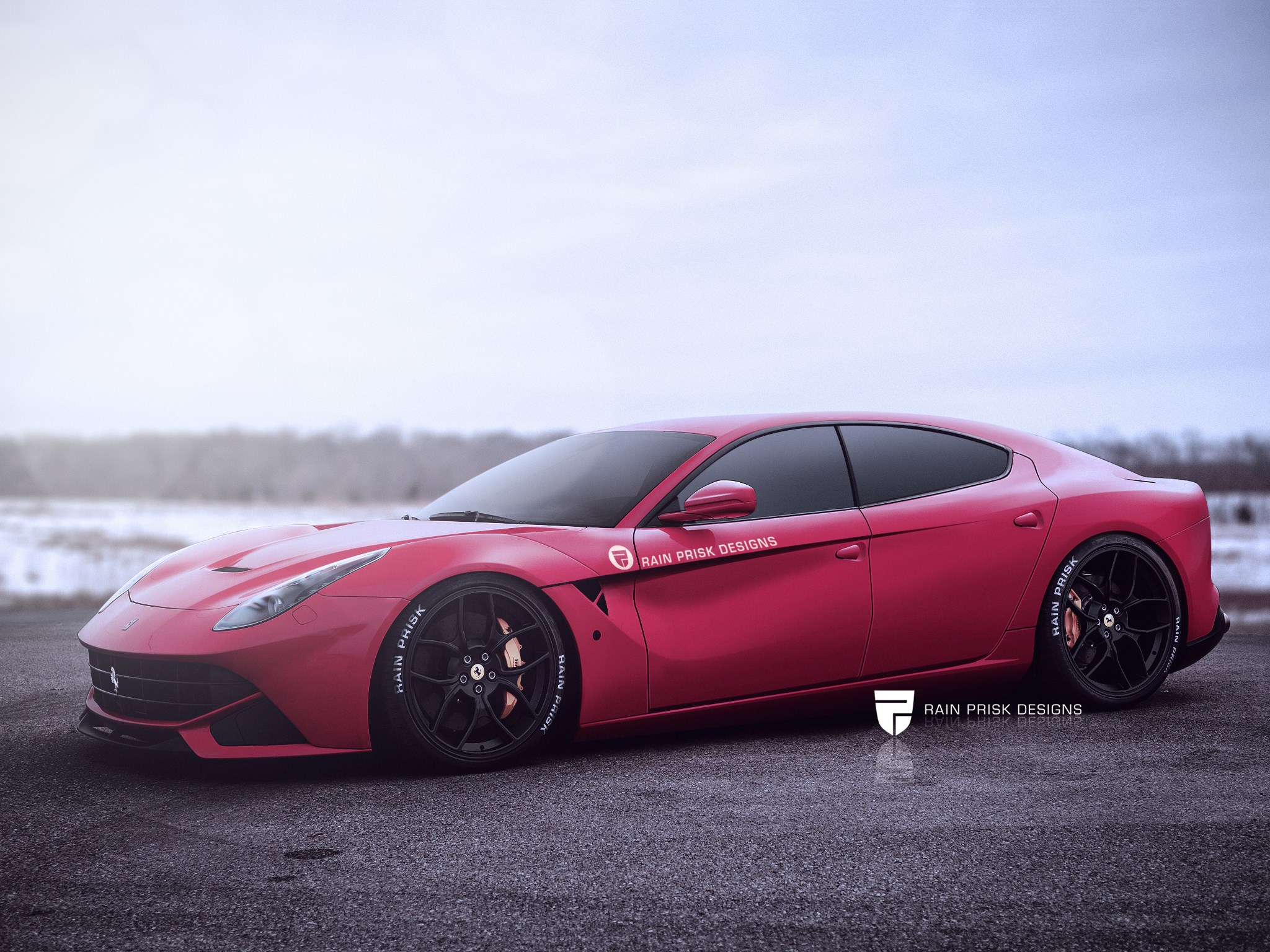 Four Door Ferrari F12 Rendering Is Ready To One Up The