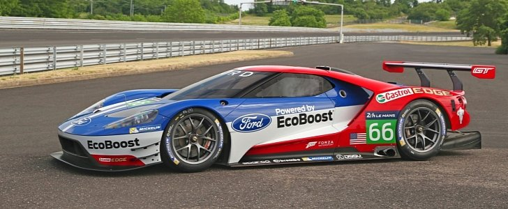 four ford gt race cars will compete at le mans autoevolution