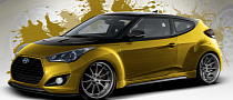 Fox Marketing Hyundai Veloster Turbo for 2013 SEMA