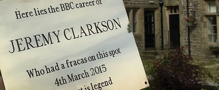 """""""Fracas"""" Hotel Throws Party to Commemorate Clarkson Getting Fired From Top Gear - autoevolution"""