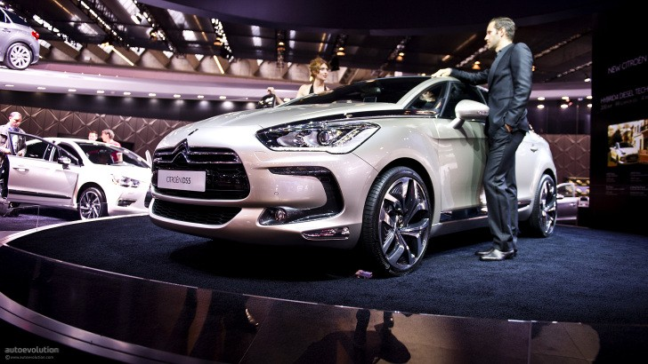 Frankfurt 2011: Citroen DS5 [Live Photos]