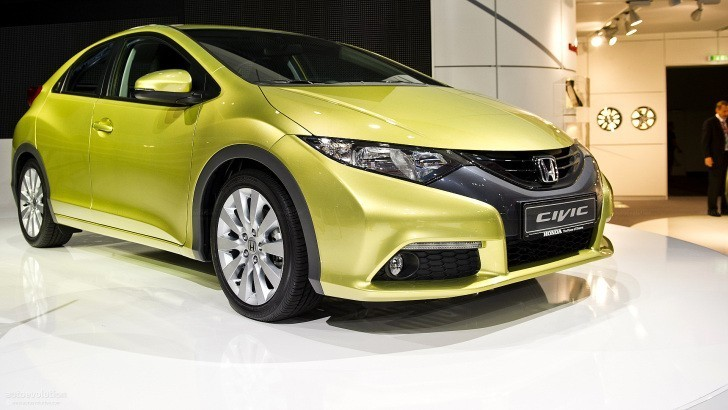 Frankfurt 2011: Honda Civic Hatchback [Live Photos]