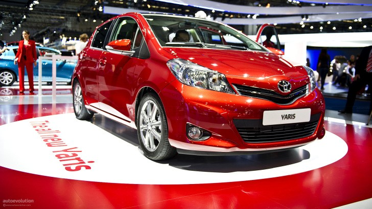 Frankfurt 2011: Toyota Yaris [Live Photos]