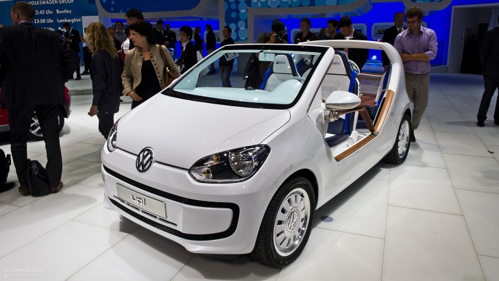 Frankfurt 2011: Volkswagen Up Azzurra Sailing Team Concept [Live Photos]