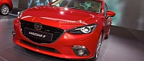 Frankfurt 2013: All-New Mazda3 Hatch and Sedan [Live Photos]