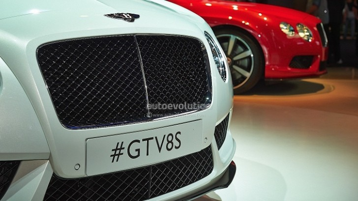 Frankfurt 2013: Bentley GT V8S and GTC V8S [Live Photos]