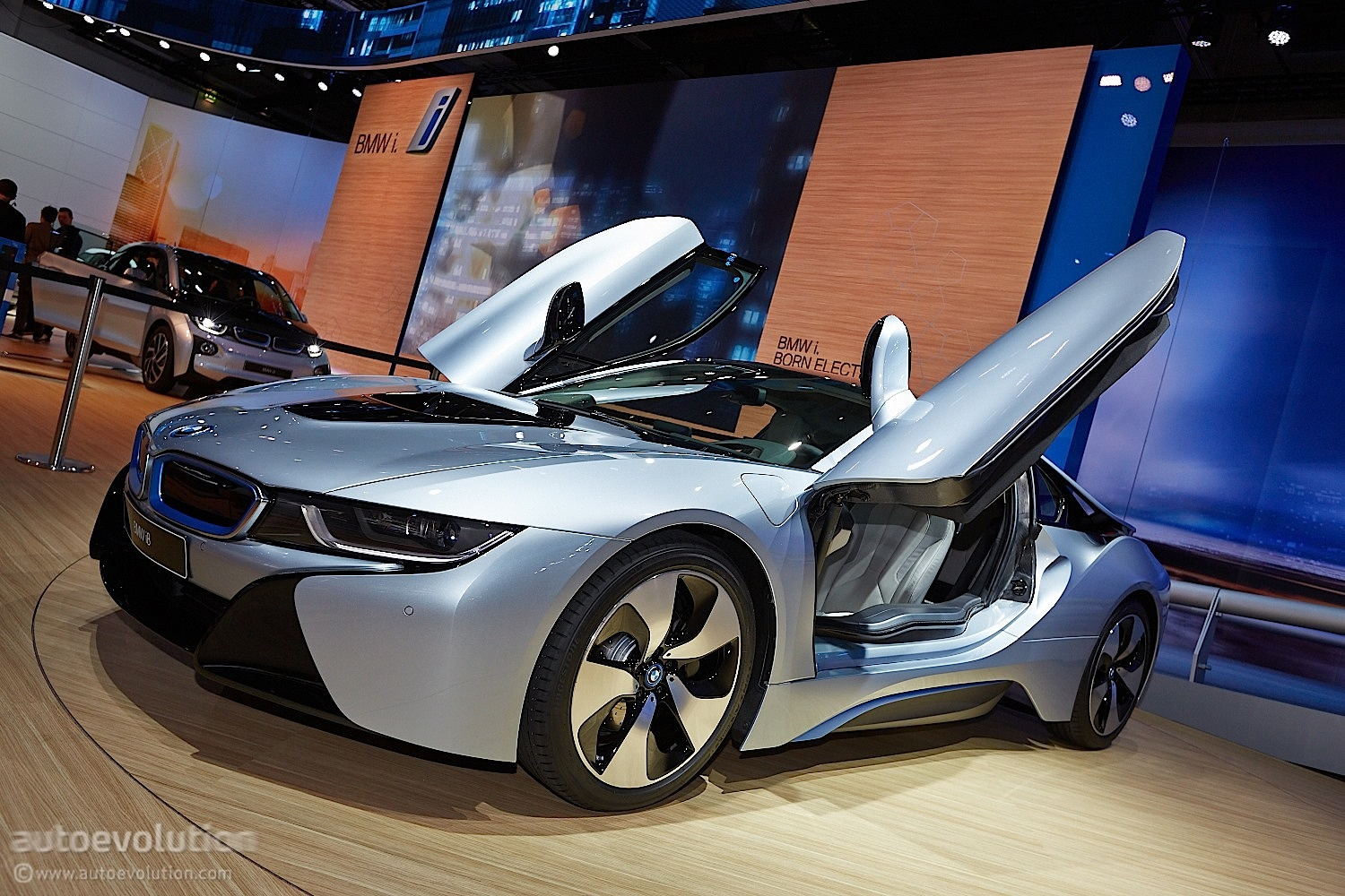 frankfurt bmw i8. Black Bedroom Furniture Sets. Home Design Ideas