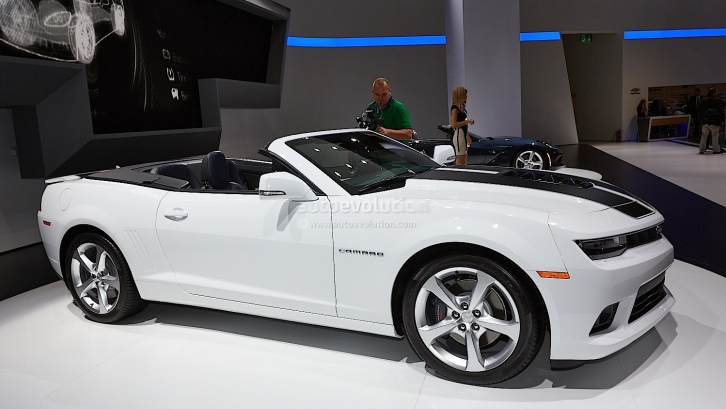 Frankfurt 2013: Chevrolet Camaro Convertible [Live Photos]