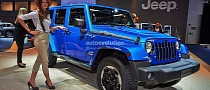 Frankfurt 2013: Jeep Wrangler Polar Edition [Live Photos]