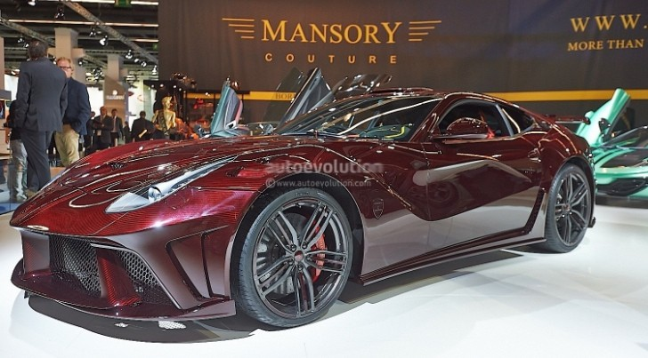 Frankfurt 2013: Mansory La Revoluzione Costs €1.3 Million [Video] [Live Photos]