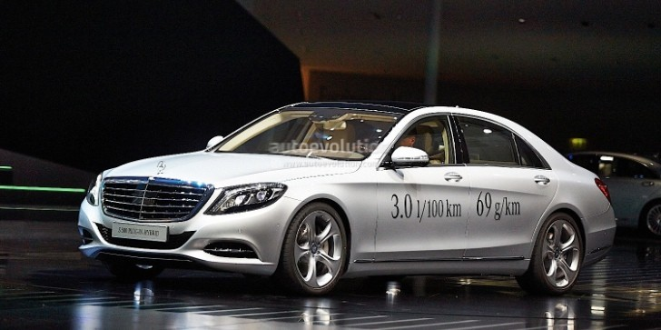 Frankfurt 2013: Mercedes S500 Plug-In Hybrid [Live Photos]