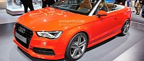 Frankfurt 2013: New Audi A3 Cabriolet [Live Photos]