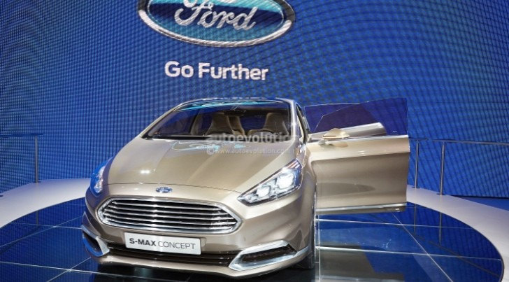 Frankfurt 2013: New Ford S-Max Previewed by Concept [Live Photos]