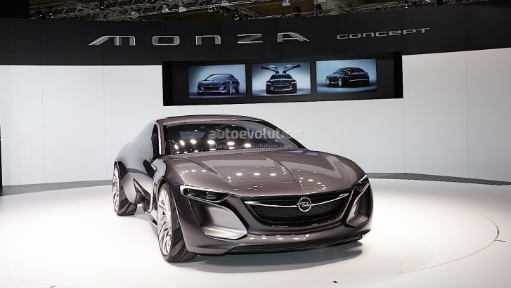 Frankfurt 2013 Opel Monza Concept Revealed Live Photos