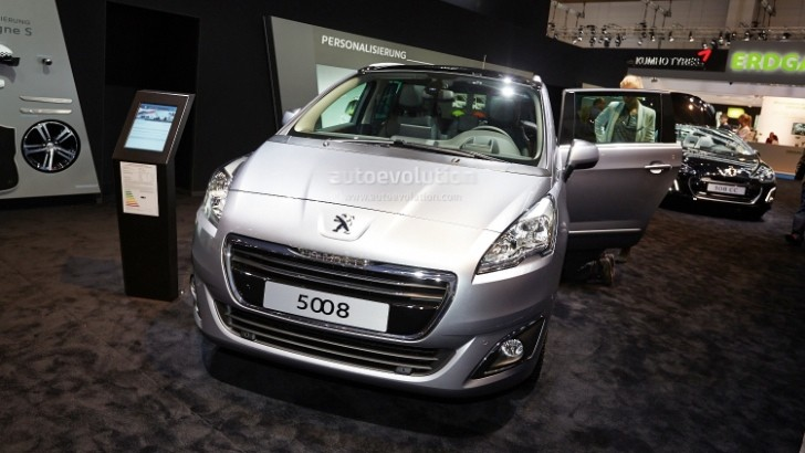Frankfurt 2013: Peugeot 5008 Facelift [Live Photos]