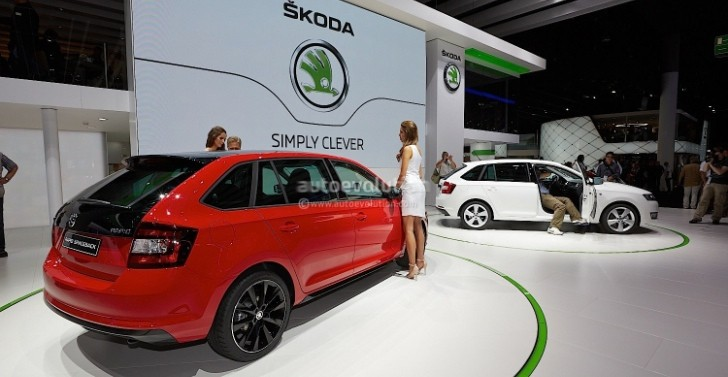 Frankfurt 2013: Skoda Rapid Spaceback [Live Photos]