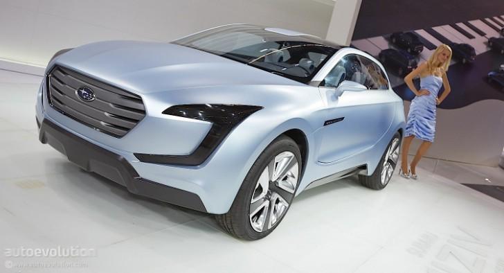 Frankfurt 2013 Subaru Viziv Concept Shows Up Live Photos