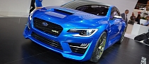 Frankfurt 2013: Subaru WRX Concept Makes European Debut [Live Photos]