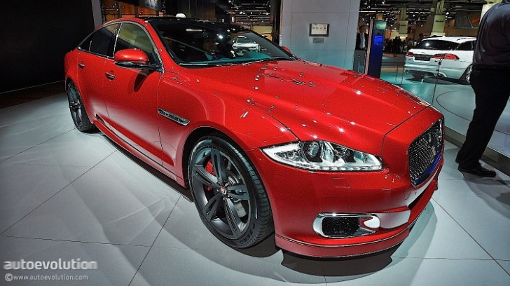 Frankfurt 2013: Updated 2014 Jaguar XJR Unveiled [Live Photos]