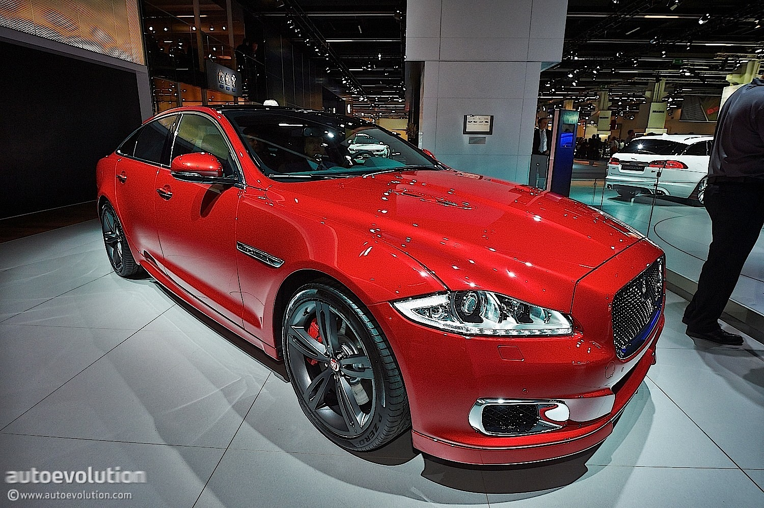 2014 Jaguar XJR at the 2013 Frankfurt Motor Show ...