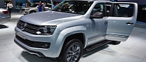 Frankfurt 2013: Volkswagen Amarok Dark Label [Live Photos]