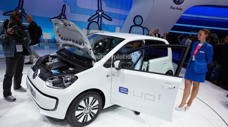 Frankfurt 2013: Volkswagen e-Up! [Live Photos]