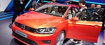 Frankfurt 2013: Volkswagen Golf Sportsvan Concept Previews Next Golf Plus [Live Photos]