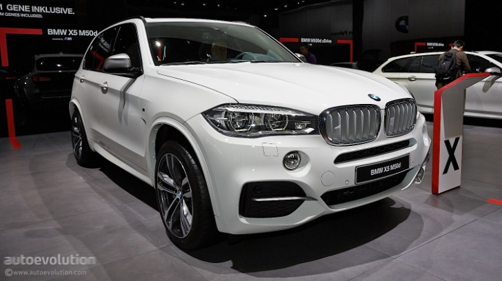 Frankfurt 2013 World Premiere: BMW F15 X5 M50d [Live Photos]