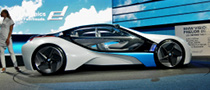 Frankfurt Auto Show: BMW Vision EfficientDynamics [Live Photos]