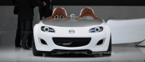 Frankfurt Auto Show: Mazda MX-5 Superlight Concept [Live Photos]